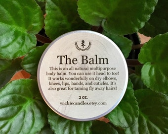 Pomegranate Sage Scented All Natural Multipurpose Body Balm Salve