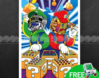 "Super Daft Bros 13"" x 19"" Poster"