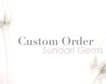 Special Order Listing for J - final payment only