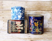 Three Asian Inspired Tins Instant Collection Daher Tea Tins