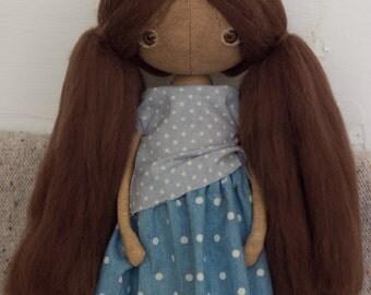 totootse art doll #197