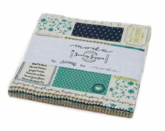 Sunday Supper Charm Pack 5650PP by Sweetwater for Moda