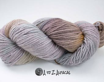 Royal Baby Alpaca Yarn Bulky Weight Hand Dyed Alpaca Yarn OOAK #2
