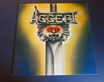 Accept Vinyl Record PB 9849 Passport Records 1980