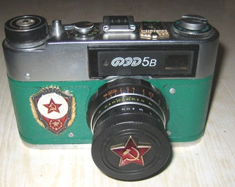 LEICA COPY russian FED-5 with lens industar-61 + Case  from viktan