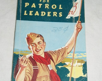 Boy Scouts,  Handbook for Patrol Leaders, 1959