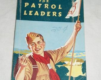 Boy Scouts,  Handbook for Patrol Leaders, 1959