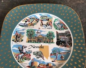 Vintage Nevada State Plate