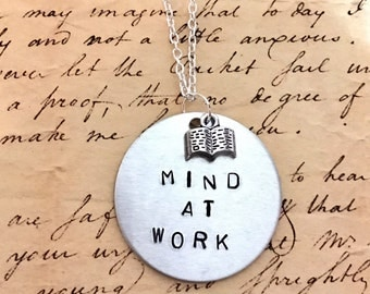 Hamilton Broadway SCHUYLER SISTERS Mind at Work Charm Necklace