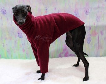 Two legged Cuffless Sweaters for Italian Greyhounds - made to order please read item details - various colours available
