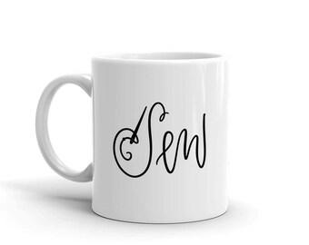 Sew Mug, Studio 336, gift, 11oz, 15oz