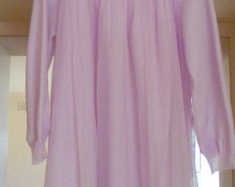 Vintage 1960's cotton candy pink nightgown
