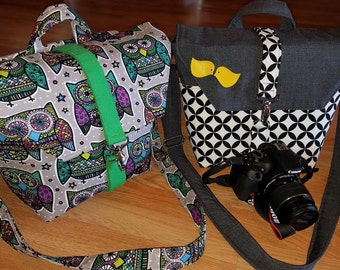 New-Camera bag-Digital SLR camera bag-Dslr camera case-purse-womens camera bag- Diamond Eye