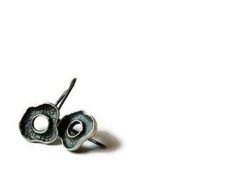 boho silver earrings | tiny stud earrings | minimal earrings | minimalist dangle earrings| boho earrings | mothers day gift | cool earring