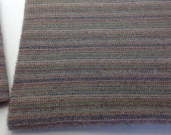 Gray Multi Stripe, Wool Fabric for Rug Hooking and Appliqué, Select 1 yd, 1/2 yd, 1/4 yd, W291, Primitive Gray, Muted Gray, Old Gray