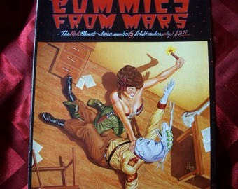 Commies From Mars Comix No 6 issued 1987 Last Gasp Constra Comic Socio Political Outer Space Ships Peter Kuper Huey Rich Boxell Satire