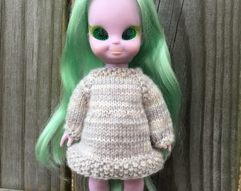Knitting Pattern- Dress for Emerald Witch