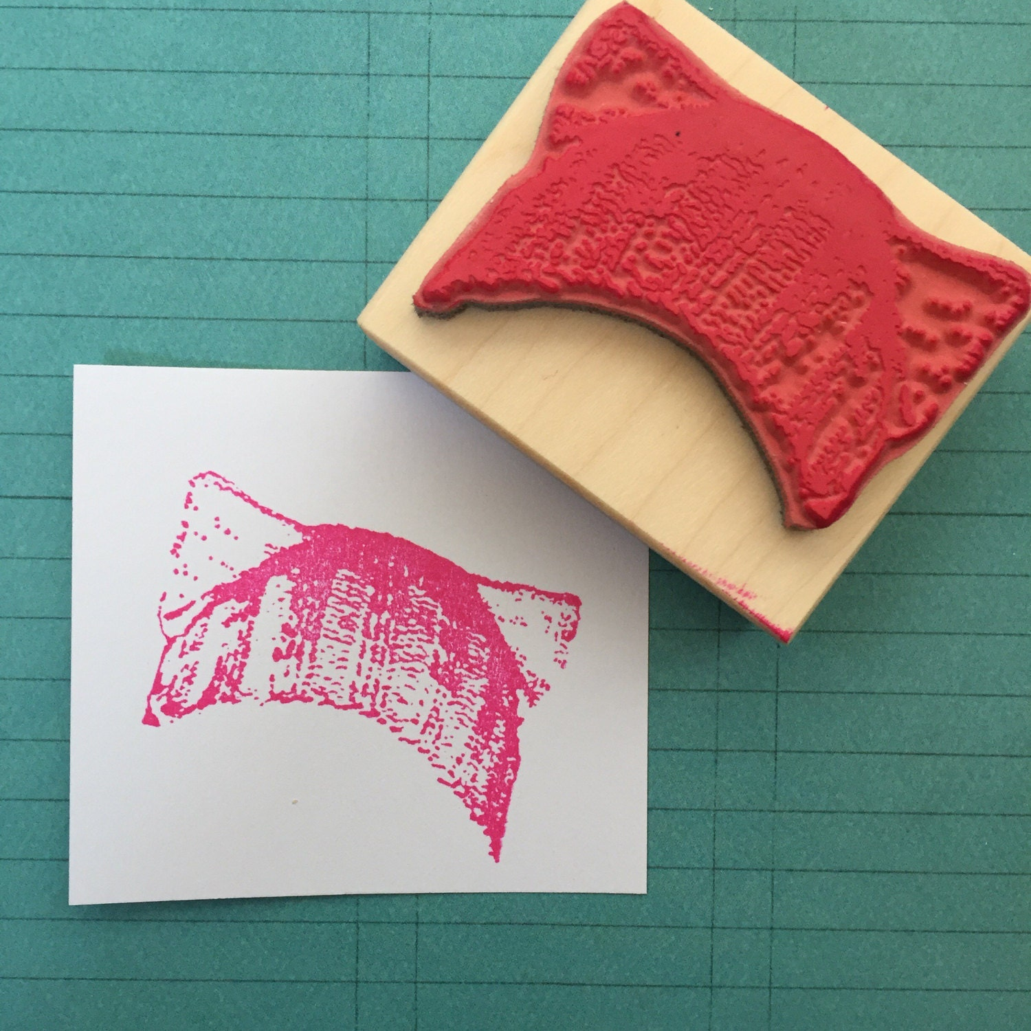 Knitting Letters Into A Hat : Feminist knitted cat hat rubber stamp