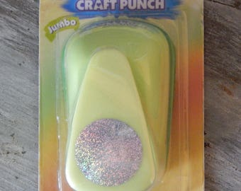 """New Marvy Uchida Clever Lever Punch - Jumbo 1"""" Circle Paper Punch - for favor tags - scrapbooking - paper crafts - confetti - card making"""