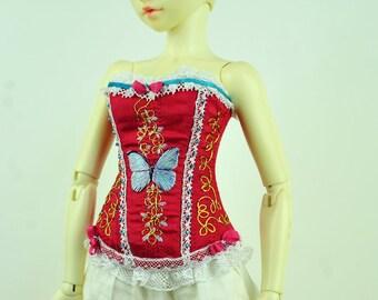 Summer Love BJD Art Line Corset for Fairyland Minifee MSD BJD