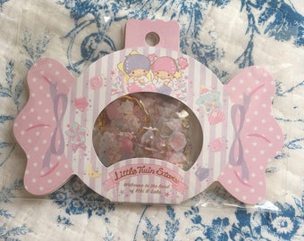 NEW 20 drop stciker flakes pack Sanrio LTS