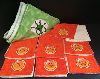 Dragon Ball Z Burp Cloth Set