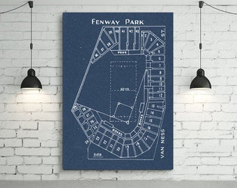 Print of vintage astrodome seating chart seating chart on print of vintage fenway park seating chart seating chart on photo paper matte paper or malvernweather Choice Image
