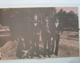 "Vintage Original ""The Big Four"" Beatles Poster"
