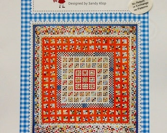 50%OFF American Jane Patterns AUNT ELLA'S Quilt By Sandy Klop - Quilt Quilter Pattern Template