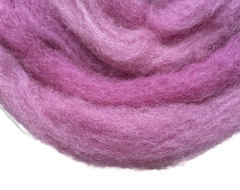 1.76 oz Needle Felting Wool, Purple, Wet Felting Wool, U 80 045