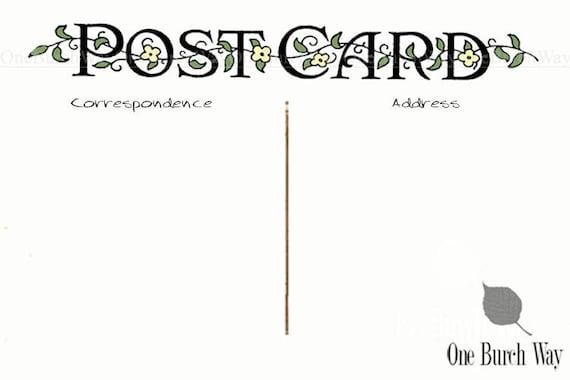 postcard template 4x6