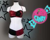 Harley-Kini 2.0 HERO-KINI by SciFeyeCandy Harley Quinn inspired Bikini