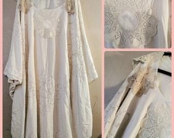 Lacey Alternative Wedding Dress Ivory Cream Beige Party Special Occasion Caftan Kaftan