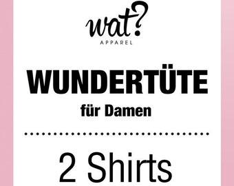 Wundertüte für Damen - 2 Shirts