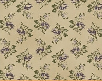 FAB1860-11 Civil War, Green Bouquet, The Blue and The Grey by Nancy Gere for Windham Fabrics, Reproduction Fabric by the Yard