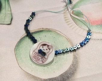 Lucky Matryoshka/Babushka/Nesting Doll  Bracelet