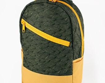 Caravan Backpack: Paper Plane-Olive