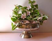 Silver Plated Center Piece, great style, french home decor, Table Centerpiece, table center