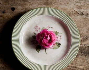 farmhouse decor, rustic floral decor, floral nursery art, rustic kitchen decor, ranunculus art, pink flower art, romantic floral art,