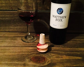 Wine bottle stopper- Spinner