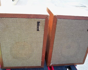 Vintage 1960's Realistic Solo 1 Speakers
