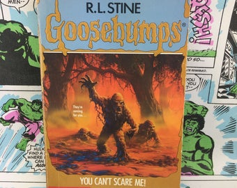 Goosebumps #15 - You Can't Scare Me - R.L. Stine - Young Adults