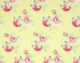 68095  Tanya Whelan Lola collection Lola roses in yellow  PWTW104 -  1  yard
