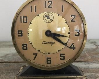 Vintage clock - Waterbury clock