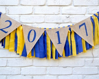 2018 Graduation - Class of 2018 Banner - graduation decor - high school reunion - class of 2018 - reunion party decoration - 2018 party