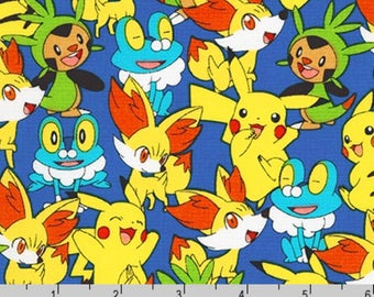 Pokemon - Characters Play Royal Blue from The Pokemon Co from Robert Kaufman