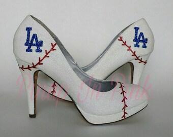 Sale* Dodgers heels size 8