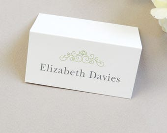 Eva Wedding Place Card