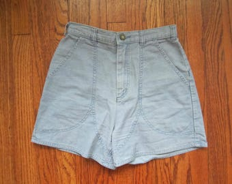 Vintage 80s Patagonia Sky Blue High Waisted Shorts