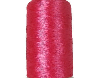 No. 132 (Berry Pink) 5000m Polyester Spool of Embroidery Machine Thread